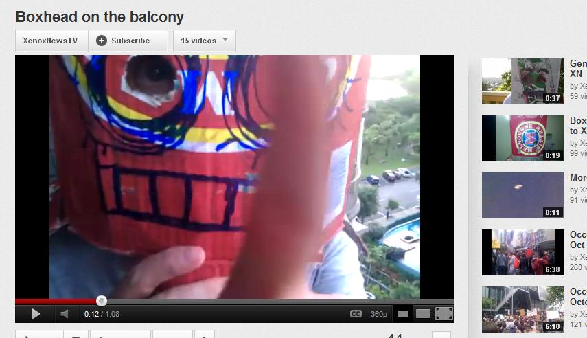 boxhead on the balcony 2